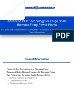 Advanced CFB Technology for Large Scale Biomass Firing