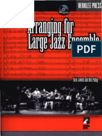 259951689 Arranging for Large Jazz Ensemble Lowell and Pullig