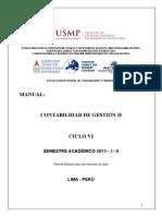 Manual Contabilidad de Gestión II - 2015