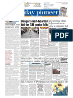 Epaper Lucknow English Edition 22-03-2015