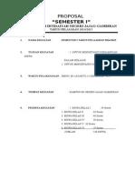 Contoh Proposal Ujian Semester i