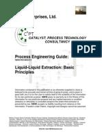 Liquid-Liquid Extraction - Basic Principles