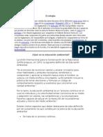 Ecologia y Educacion Ambiental Compendio