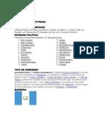 LIMITES TERRITORIALES DE C.A.