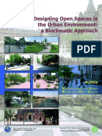 Design Open Space in the Urban