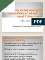 Utilizacion de Las Energias Renovables en El Sector Rural Colombia