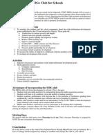 MDG Proposal
