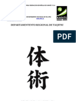 Programa de Cursos de Tai Jitsu Andaluza 1