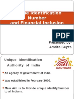 Uid and Financial Inclusion