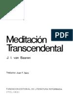 J. l. Van Baaren - Meditacion Trascedental