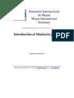 Jaime Morales - Introduccion Al Ministerio Juvenil
