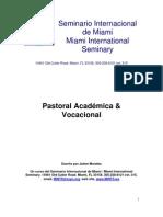 Jaime Morales - Pastoral Academica &Amp; Vocacional