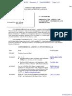 The Facebook, Inc. v. Connectu, LLC et al - Document No. 2