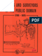 Surveys and Surveyors of the Public Domain