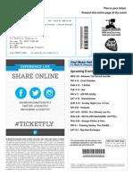 Chris Tickets