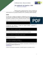Instalacion Apache PHP PostgreSQL