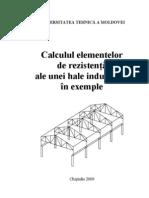 Indrumar  Proiectare Constructii Metalice - Hala Industriala