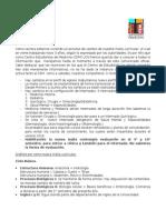 Comunicado Malla Curricular 2016