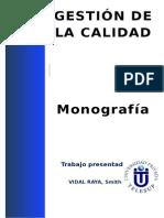 Monografia calidad