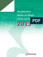 Musikbücher2013