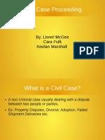 civil cases procedure