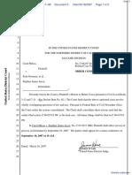 Shloss v. Joyce - Document No. 5