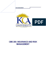 Cms 200 Insurance Risk Management Module