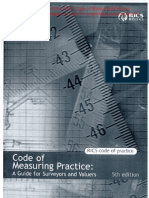 Code of Measuring Practice 5th Edition
