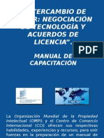 Intercambio de Valor, Negociación y Transferencia de Tecnología