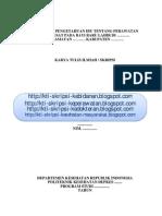 KTI Skripsi No.254 Gambaran Pengetahuan Ibu Tentang Perawatan Tali Pusat Pada Bayi Baru Lahir (Proposal)