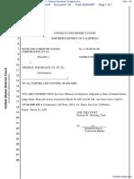 Netscape Communications Corporation et al v. Federal Insurance Company et al - Document No. 116