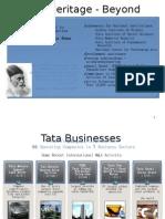 Tata Heritage - Beyond Business