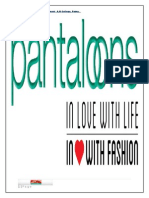 Project Report of Pantaloons