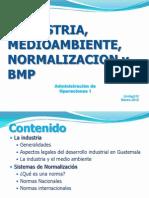Unidad IV. Industria Med. Nor. Bpm 2012