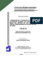 PREDICCIÓN DE LA RESPUESTA SÍSMICA DE UN EDIFICIO COLONIAL DEL SIGLO XVI POR MEDIO DEL MÉTODO DE LOS ELEMENTOS FINITOS, CONSIDERANDO SU ESTADO ACTUAL DE DAÑO