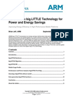 Advances in Big.littLE Technology for Power and Energy Savings