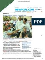 """11-04-15 Propone """"Maloro"""" aumentar Centros de Salud"""