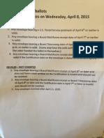 Mail Post Mark Methodology