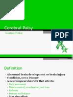 cerebral palsey
