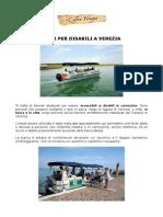 Tour per disabili a Venezia