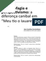Ana Carolina Cernicchiaro - Antropofagia e Perspectivismo