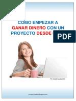 Report e Pro Yec to s Desde Casa
