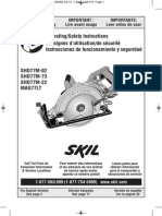 7-1/4 In. Worm Drive SKILSAW® with Twist Lock Plug - SHD77M-73