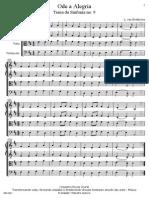 Ode a Alegria - Beethoven