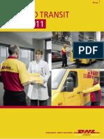 Dhl Express Rate Transit Guide 2011 Ke
