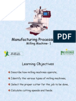 Machining Milling 1