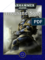 Thousand Sons Fandex