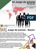 Juego de Actores MACTOR (Kariña Guevara)