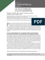 Cumplimiento de La Medicación Antipsicótica en La Esquizofrenia