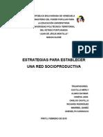 Estrategias Redes Socioproductivas Castillo Merly